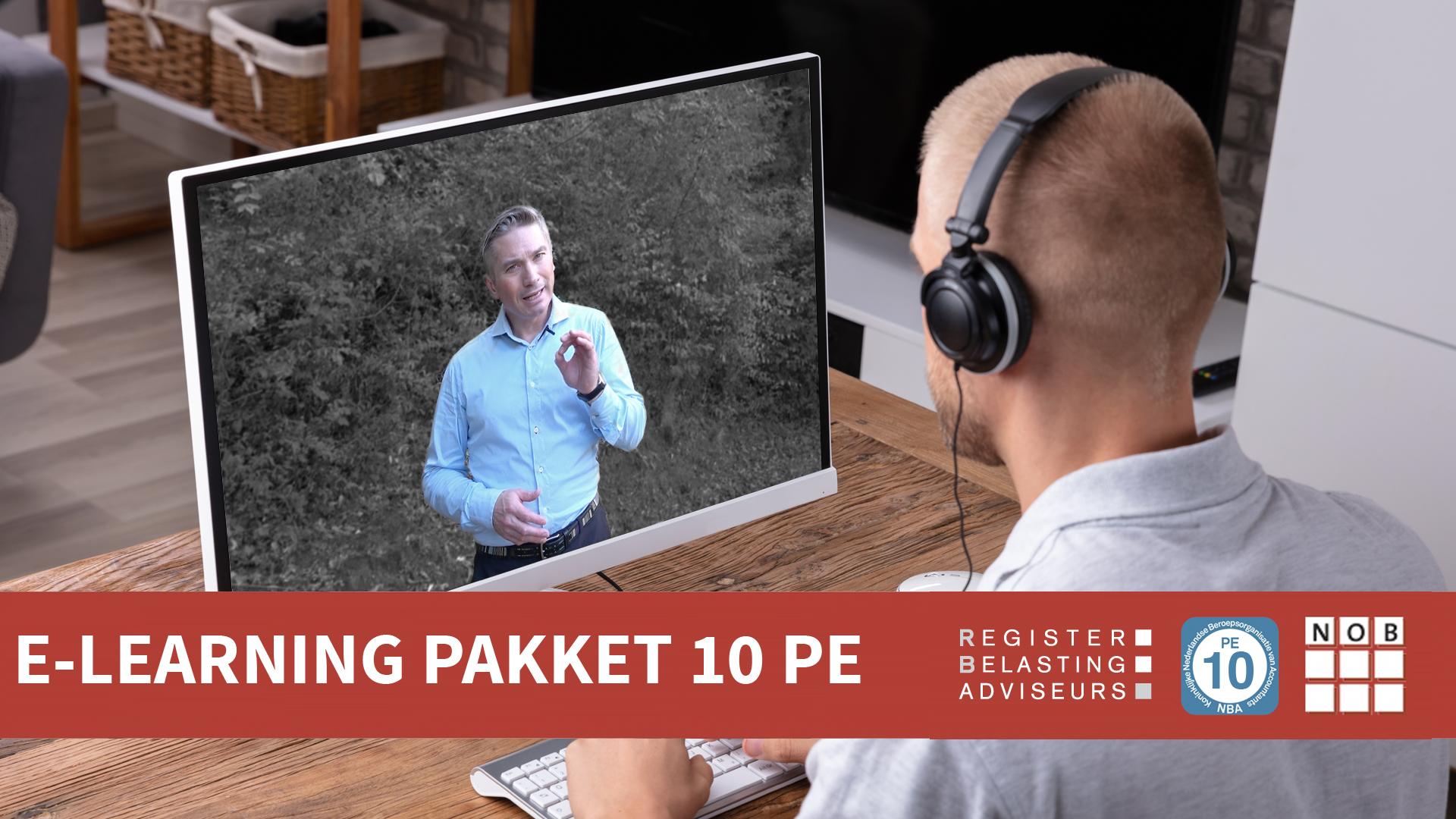 E-learningpakket 10 PE